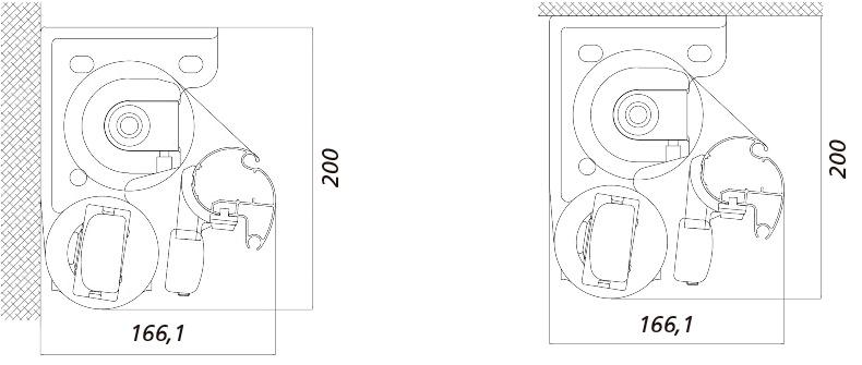 Dimensiones del Toldo Art 250