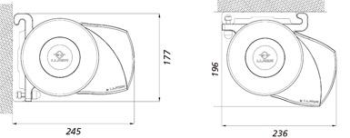 Dimensiones del Toldo Cofre Splenbox 400