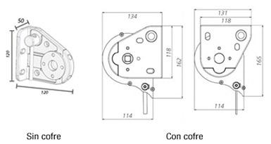 Dimensiones del Toldo Maxiscreen / Maxiscreen Box