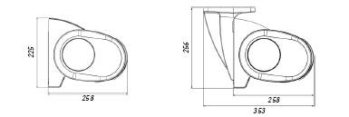 Dimensiones y Grados de Inclinación del Toldo Cofre Winbox